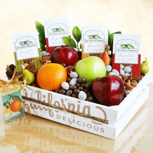 Fruit and Nuts Gourmet Gift Crate imagerjs