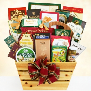 Rustic Gourmet Greetings Gift Basket imagerjs