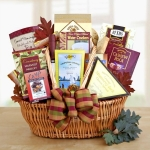 Gourmet Snack Time Basket