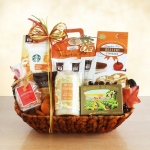 Fall Pumpkin Spice Spa Basket