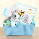 Welcome Baby Bunny & Picture Frame Gift Set