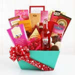 Valentine Sweets Gourmet Gift Basket