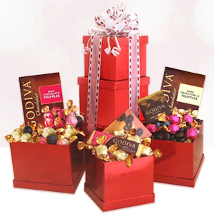 Passionate Valentine Gift Tower imagerjs