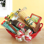 Coppola Prima Italian Wine & Dinner Christmas Basket