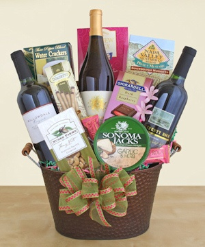 California Vineyard Gift Tub imagerjs