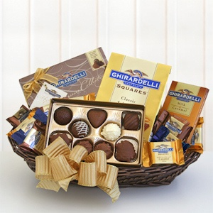 Ghirardelli Chocolate Classic Gift Basket imagerjs