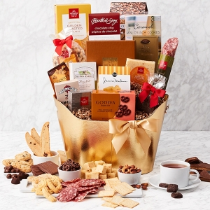 Black Tie Gourmet Food Gift Basket imagerjs