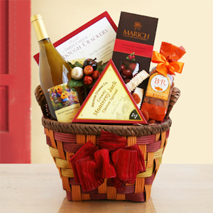 Harvest Bounty Wine & Gourmet Basket imagerjs