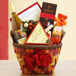 Harvest Bounty Wine & Gourmet Basket