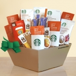Deluxe Starbucks Coffee plus Cocoa & Chocolate Gift