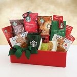 Starbucks Merry Christmas Gift Basket