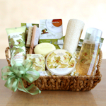 Vanilla Orchid Spa Sensation Gift Basket