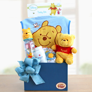 Winnie the Pooh Baby Welcome (Blue or Pink) imagerjs