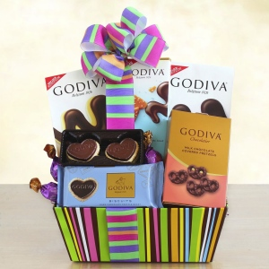 Godiva Rainbow of Treats for Mom imagerjs