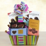 Godiva Rainbow of Treats for Mom
