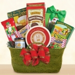 Evergreen Snack Holiday Gift Basket