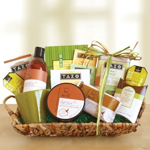 Tazo Tea Relaxation Basket imagerjs