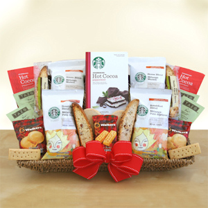 Starbucks Holiday Party Basket imagerjs