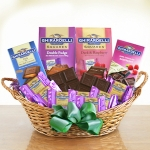 Ghirardelli for Mom Chocolate Basket