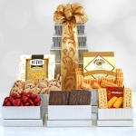 Shimmering Seasons Gourmet Holiday Tower