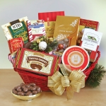 Sensational Seasons Greetings Holiday Basket
