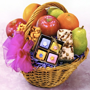 Fruit and Snacks Basket imagerjs