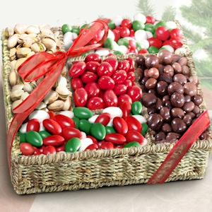 Happy Holiday Mix Gift Tray imagerjs