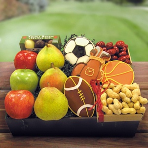 Sports Fun Fruit and Snacks Basket imagerjs