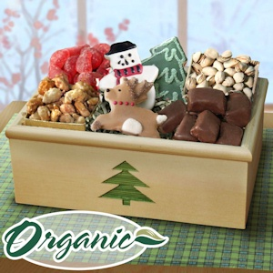 Organic Christmas Snack Crate imagerjs