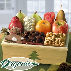 Christmas Organic Fruit Crate imagerjs