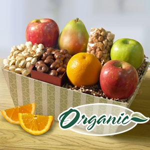 Organic Favorites Gift Basket imagerjs