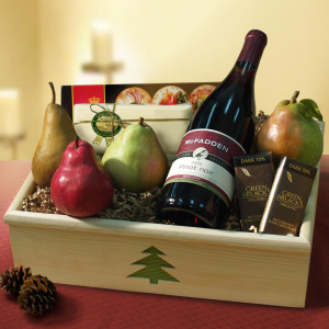 Christmas Cheer Organic Wine Crate imagerjs