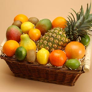 Deluxe Tropical Fruit Basket imagerjs