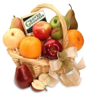 Fresh Fruit Medley Gift Basket imagerjs