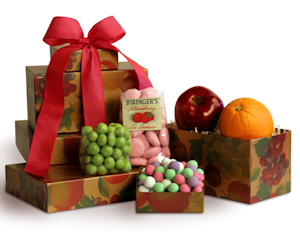 Sweet and Sunny Fruit Gift Tower imagerjs