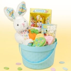 Easter Bunny Treat Basket imagerjs