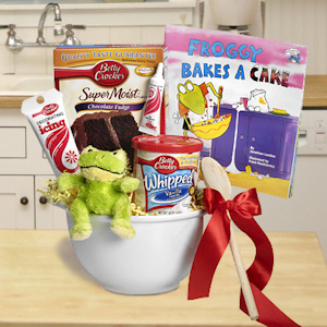 Froggy Bakes a Cake Birthday Gift imagerjs
