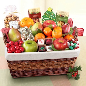 California Farmstead Deluxe Holiday Gift Basket imagerjs