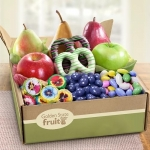 Fresh Spring Fruit and Sweets Box