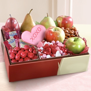 Deluxe Fruit and Sweets Valentine Gift imagerjs