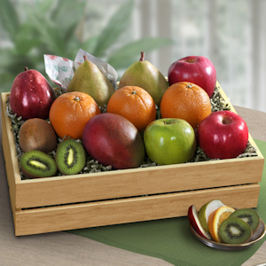 Deluxe Mixed Fruit Crate Gift imagerjs