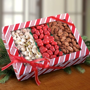 Santa Snacks Nuts and Sweets Trio imagerjs