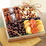 Chocolate and Nut Gift Fruit Crate