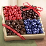 Chocolate Covered Fruit and Nuts Tray