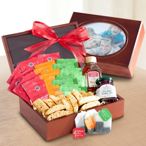 Tea Time Wooden Photo Box Gift imagerjs