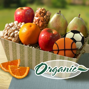 Father's Day Organic California Fruit Basket imagerjs