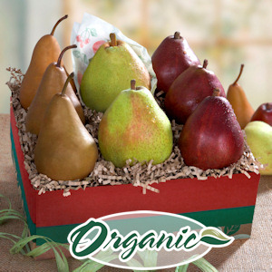 Organic California Pear Trio imagerjs