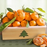 Season's Greetings Mandarins Deluxe Crate