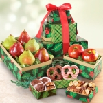 Holly Jolly Christmas Fruit and Snack Tower