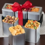 Savory Snacking Grand Tin Trio Set
